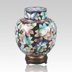 Great Wall Butterflies Child Cremation Urn