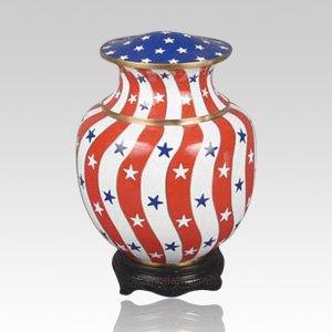 Palace Patriotic Child Cremation Urn