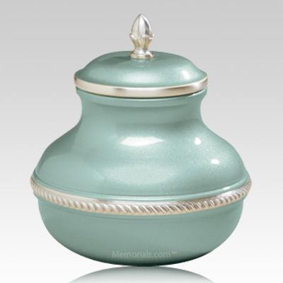 Green Chastity Cremation Urn