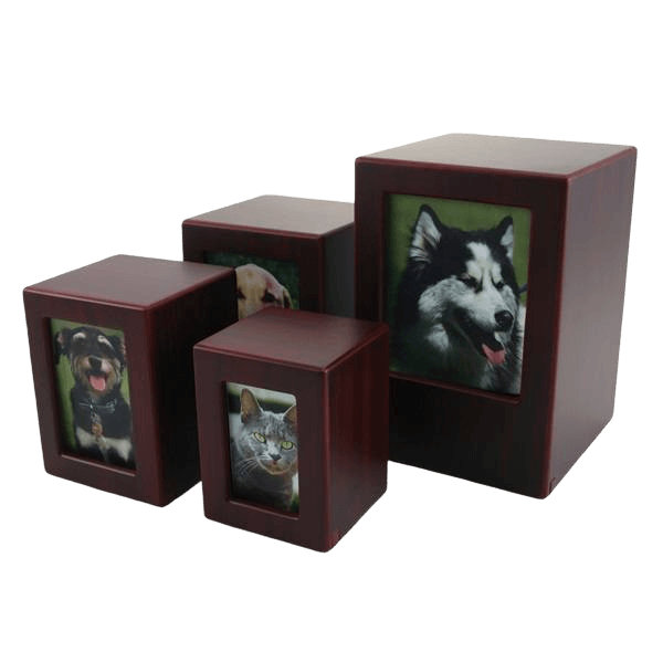 Cherry Infinity Photo Wood Urns
