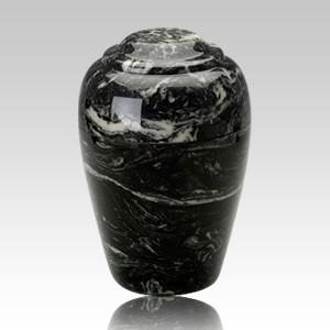 Grecian Ebony Infant Cremation Urn