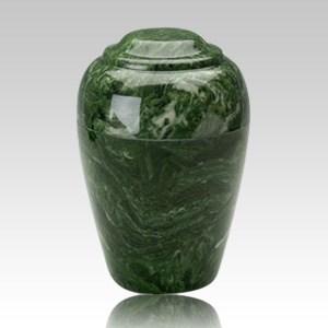 Grecian Emerald Infant Cremation Urn