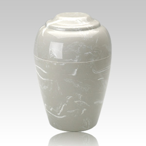 Grecian Silver Gray Infant Cremation Urn