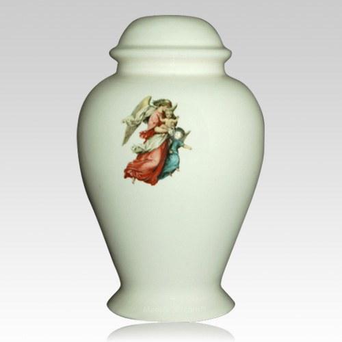 Angel Ivory Child Cremation Urn