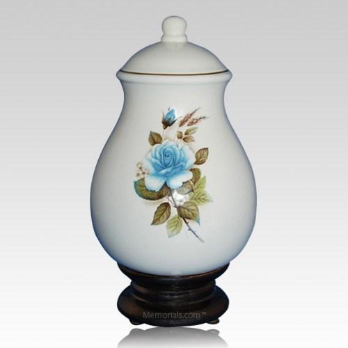 Serena Blue Children Cremation Urn
