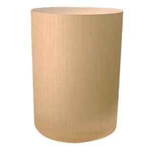Circular Bronze Cremation Urn