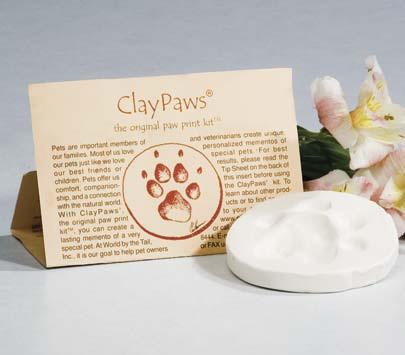Claypaws Paw Print Kit