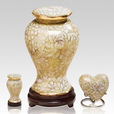 Morning Mist Cloisonne Cremation Urns