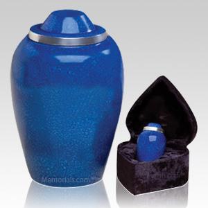 Glacier Blue Cremation Urns