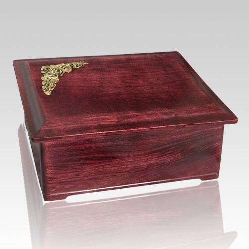 Coronation Wood Cremation Urn