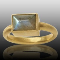 Square Cremation Ring II