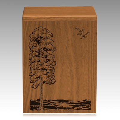 Eternal Tree Walnut Cremation Urn