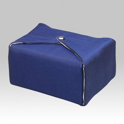 Dark Blue Wrap Cremation Urn