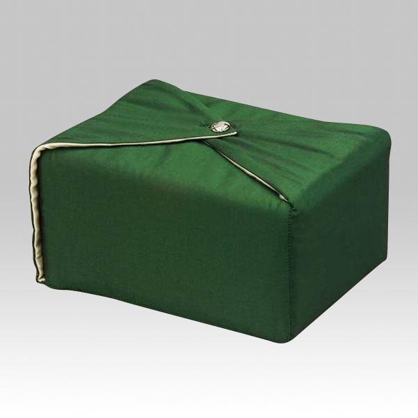 Dark Green Wrap Cremation Urn