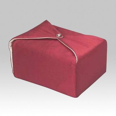 Maroon Wrap Cremation Urn