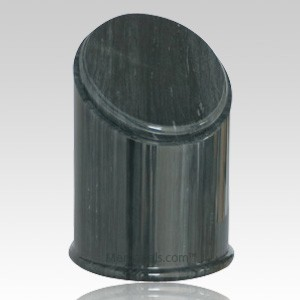 Crown Black Marble Cremation Urns