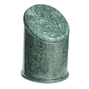 Crown Green Marble Urn