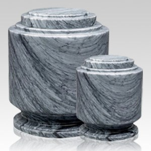 Estate Grey Marble Cremation Urns
