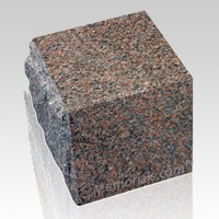 Garden Rose Granite Cremation Urn
