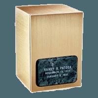 Memories Green Marble Cremation Urn