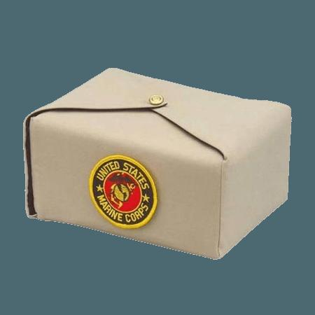 Cream Military Wrap Cremation Urn
