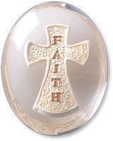 Faith Cross Comfort Stone Keepsake