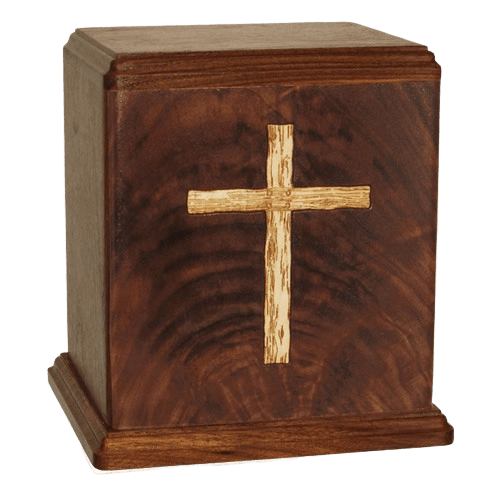 Rugged Cross Cremation Urn