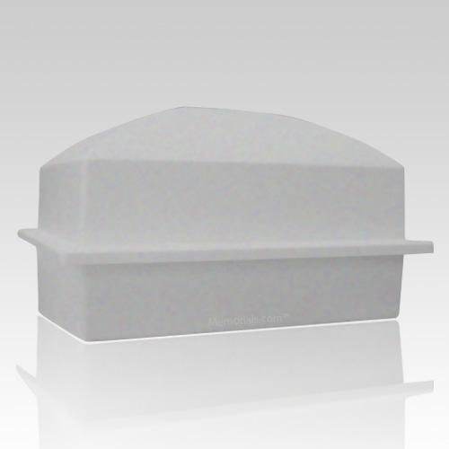 Luxury Gray Cremation Urn Vault