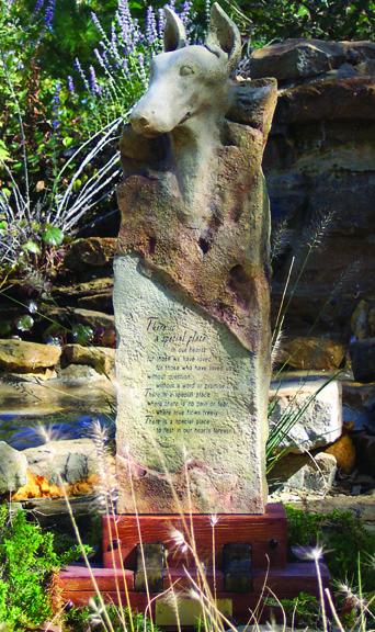 Doberman Large Cremation Memorial