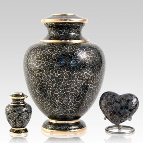 Slate Essence Cloisonne Cremation Urns