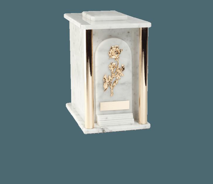 Estate Carrara Cremation Urn
