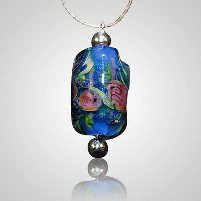 il listing fused pendant grzn jewelry cremation memorial glass pet necklace ashes ash