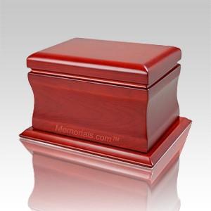 Freeport Wood Cremation Urn