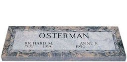 Companion Granite Headstones