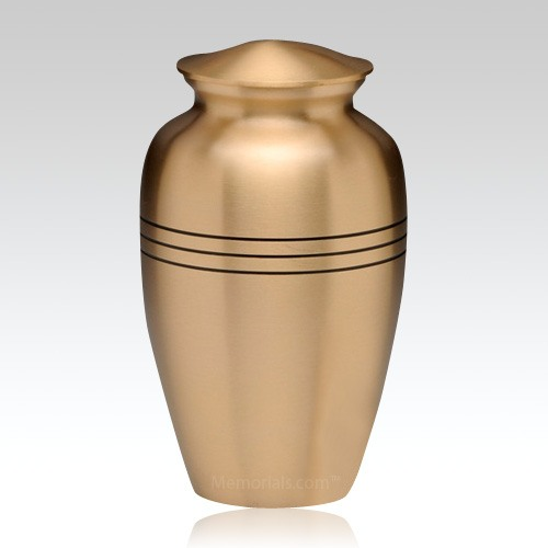 Grecian Bronze Keepsake Urn
