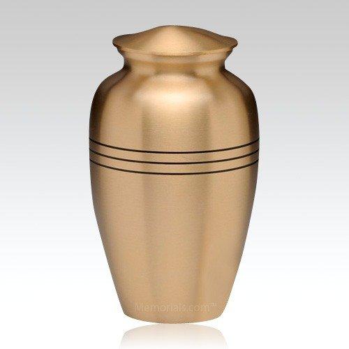 Grecian Bronze Cremation Urn