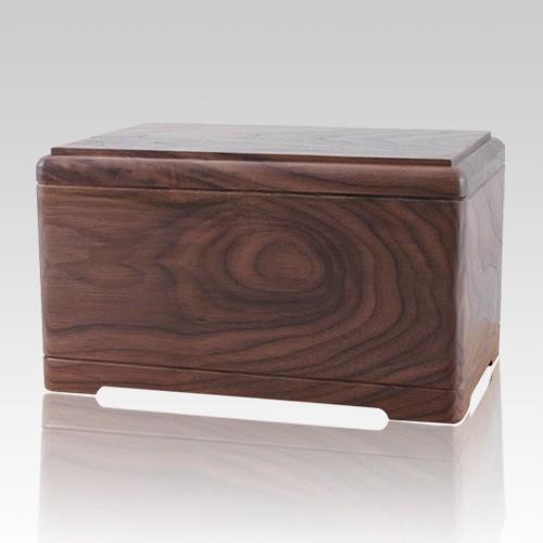 Hamilton Wood Cremation Urn