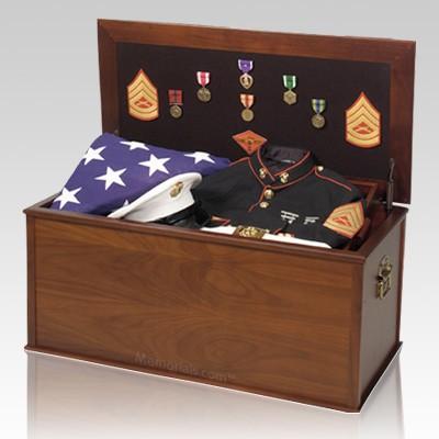 Heirloom Military Chest Cremation Urn