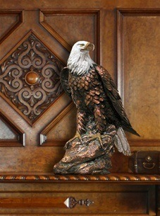 American Eagle Military Cremation Urn