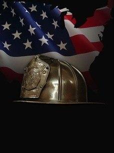 Firefighter Helmet Cremation Urn