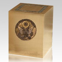 Military Cremation Urn