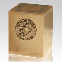 Military Marines Cremation Urn