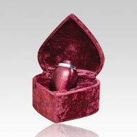 Pre Need Burgundy Cremation Urn