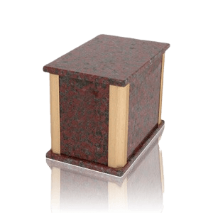 Solitude African Red Granite Medium Urn