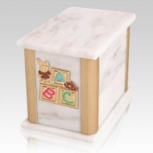 Solitude Bianco ABC Bunny Cremation Urn