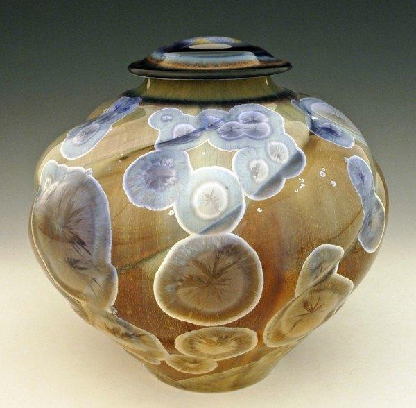 Crystal Ice Companion Cremation Urn