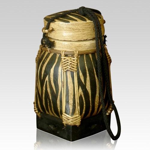Zebra Keepsake Cremation Urn