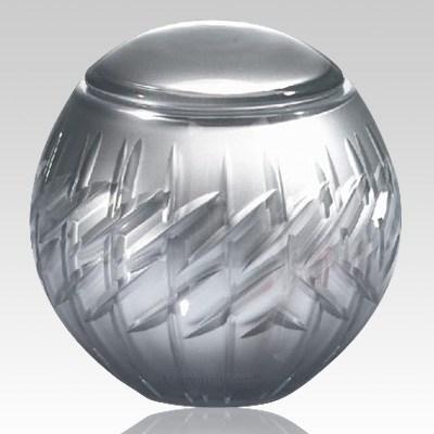 Crystal Globe Children Cremation Urn