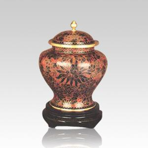 Harvest Cloisonne Keepsake Cremation Urn