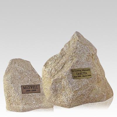 Limestone Rock Pet Urns